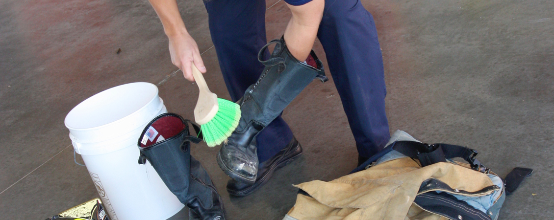 Tailboard Tip: Cancer Prevention: Clean your PPE after a fire