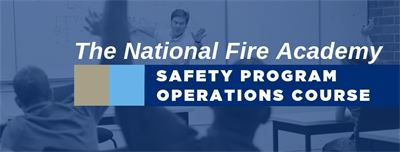 Update from the National Fire Academy: November Course Offering